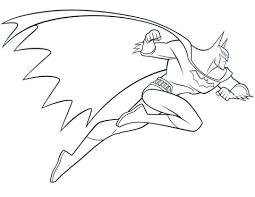 Beware The Batman Coloring Page Free Printable Coloring Pages