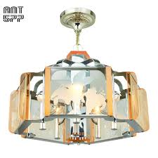 mid century modern semi flush mount ceiling light fixture chandelier ant 577 for