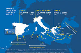Desperate Journeys Refugees And Migrants Arriving In Europe And At