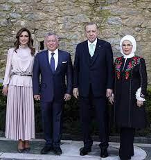 مدينة اربد - الرئيس التركي رجب طيب أردوغان والسيدة عقيلته...