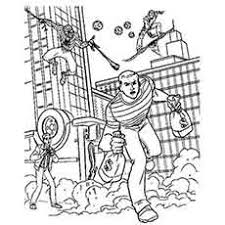 The Spiderman Fights top 33 free printable spiderman coloring pages online on spider man images coloring pages
