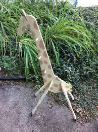 Giraffe Coat Rack John Magruder Photography For Sale SOLD Hand painted wooden 11