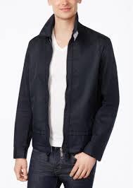 armani exchange men s extended hem jacket