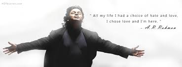 Love Quotes Facebook Stunning ARRahman Quotes FB Timeline Cover Photo
