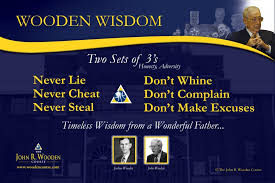 John Wooden Quotes Gorgeous The John R Wooden Course Posters