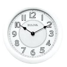 the versatile indoor outdoor wall clock with speaker slate