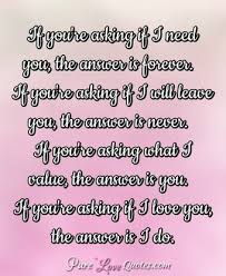 Love Forever Quotes PureLoveQuotes Fascinating You Know You Re In Love When Quotes