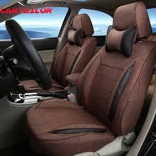 vw tiguan car seat covers linen cloth cover seats for volkswagen vw tiguan 2016 2016 2016