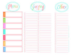 grocery list template printable cute grocery list template expin franklinfire co