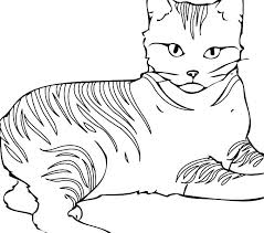 Free Printable Cat Coloring Pages Avusturyavizesiinfo