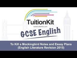 to kill a mockingbird notes and essay plans english literature  to kill a mockingbird notes and essay plans english literature revision 2015