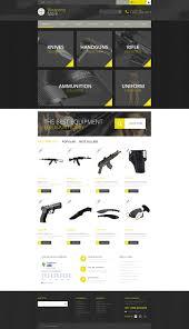 Winchester Website Design Website Design 52295 Weapon Store Shop Custom Website