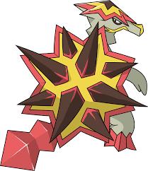 Pokemon 2776 Shiny Turtonator Pokedex Evolution Moves