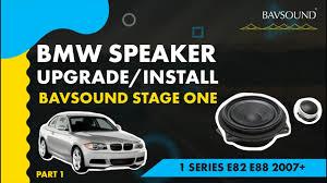 <b>BMW</b> Speaker Upgrade/Installation   1 Series <b>E82 E88</b> 2007 ...