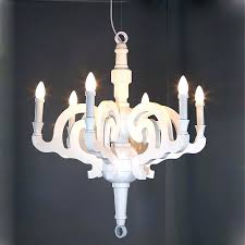 mini wood chandelier french country lighting rustic shabby