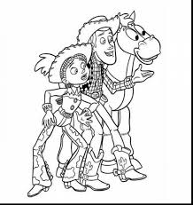 extraordinary toy story woody and jessie coloring pages with woody ...
