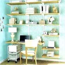 beautiful home office ideas. Office Wall Shelving Home Ideas Medium Size Of Shelves For Beautiful