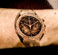 Chronextattoo Combining Tattoos With Horology Chronext