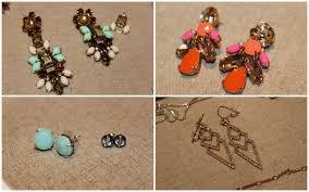 stella dot melanie chandelier earrings 59 l pop geo 49 r stella dot janice studs mint 24 hematite studs 28 l pave spear earrings 49 r
