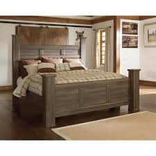 Poster Bedroom Furniture Signature Design By Ashley Juararo King Poster Bed Beds Home