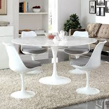 marble dining room furniture. Artificial Modern Modway White Round Marble Dining Table - Lippa \u2013 Lexiang Room Furniture