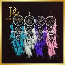2016 whole native american indian dreamcatcher feather dream catcher supplies long 16