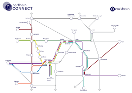 northern connect northern Northern Train Line Map northern connect routes northern train line map