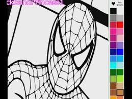 Small Picture Spiderman Coloring Pages Spiderman Coloring Book YouTube
