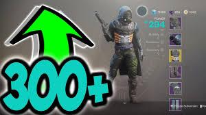 Destiny 2 How To Get 300 Light Easy Fast