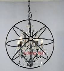 rustic candle chandelier modern crystal orb chandelier lamp lighting rustic candle chandeliers vintage led pendant hanging