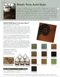 Brickform Acid Stain Color Chart Njv Decorative Concrete Supply