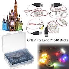 Walmart Lighting Kit Led Light Lighting Kit Toys Only For Lego 71040 Disney Castle Ordinary Edition Brick Model Not Inlcuded