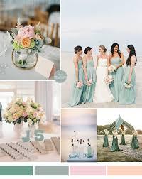 seafoam green wedding color ideas for summer beach wedding 2015