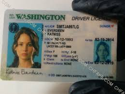 Identification Id Scannable Washington Fake Buy