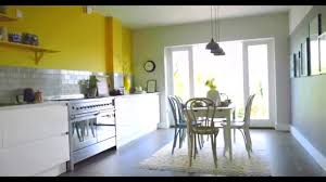 Kitchen Colour Schemes Kitchen Ideas Create A Yellow And Grey Colour Scheme With Dulux