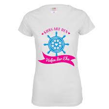 Jga T Shirt Hafen Der Ehe Navy Blau Maritim Marine Stil