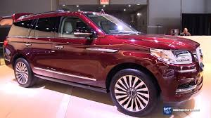 2018 lincoln navigator. fine navigator 2018 lincoln navigator  exterior and interior walkaround debut 2017 new  york auto show in lincoln navigator a