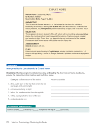 Listening Chart For 5 Year Old Medical Terminology Mastering The Basics 1st Edition Page