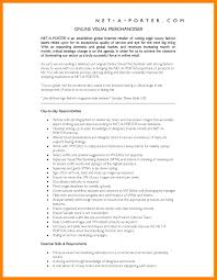 Best Solutions Of Visual Merchandising Resume Sample With Jd