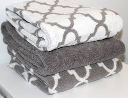 Pretty Bath Towels  Love The Trellis Pattern