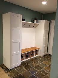 foyer furniture ikea. ikea mudroom hack pax closets ekby shelf and corbels gerton desk top kallax bench seat pjas baskets i wonder if this will fit in the hallway or foyer furniture