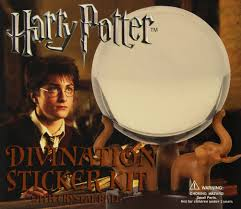 Buy Harry Potter Divination Crystal Ball Sticker Kit Book