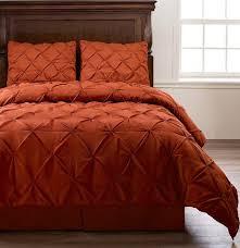 orange bedding comforter sets