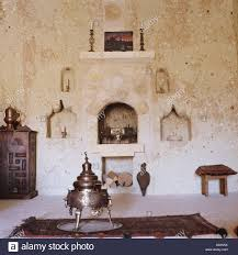 Living Room Alcove Turkish Living Room Interior With Samovar And Stone Alcove Shelves