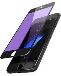 Anti Blue Light Screen Protector Iphone 6 Tozo For Iphone 7 6 6s Screen Protector Anti Blue Ray 3d Glass 3d Full Frame Technology Premium Tempered 9h Hardness 2 5d Pet Soft Edge Hybrid