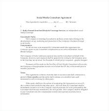 Co Marketing Agreement Influencer Contract Template Synonyms English ...