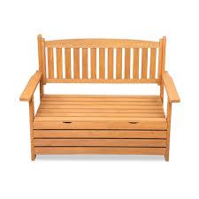 gardeon outdoor storage bench box wooden garden chair 2 seat chest furniture now