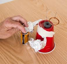 Stripped Down Motor Electricity Magnetism Science Activity