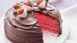 Chocolate Covered Strawberry Cake Recipe Bettycrockercom