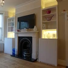 Living Room Alcove Alcove Storage Units